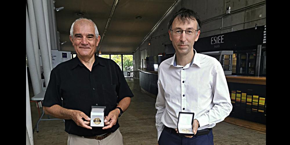 Claude Gobert et Yann Hervé médaillés d'Or
