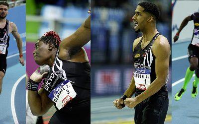 Championnats de France Élite 4 médailles